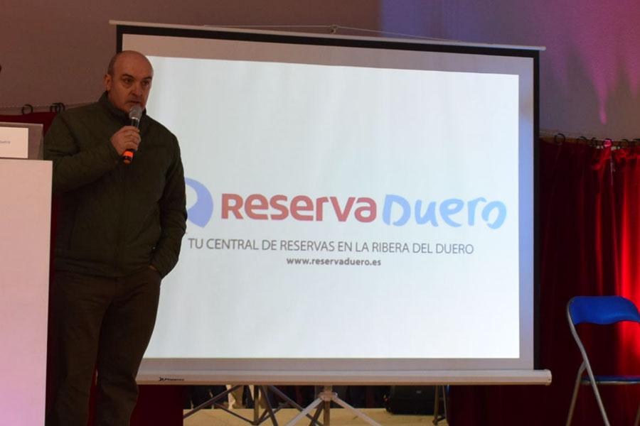 Jesús Briones, Alcalde de Gumiel de Izán y Presidente de ADR