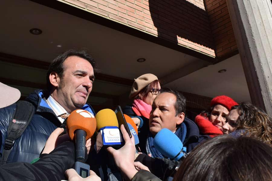 Fernando García, abogado de la supuesta víctima