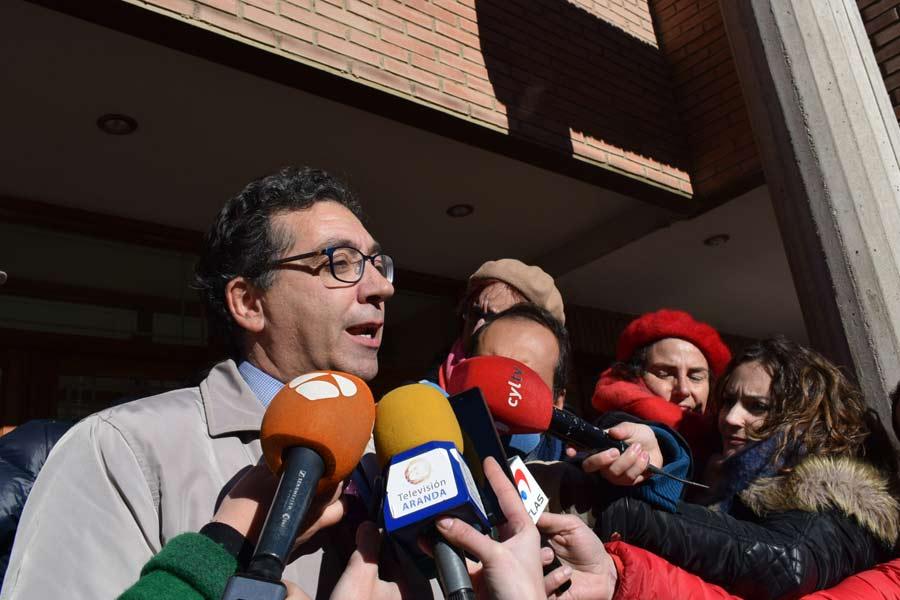 Luis Antonio Calvo, abogado de la asociación Clara Campoamor