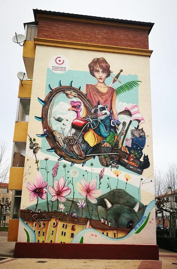 Imagen del mural