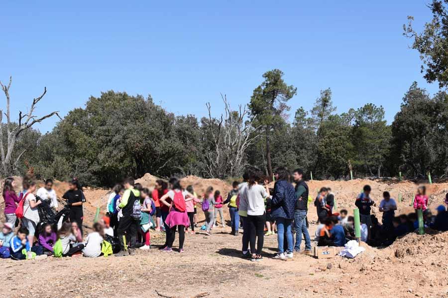 Más de cien escolares se han trasladado hasta La Calabaza