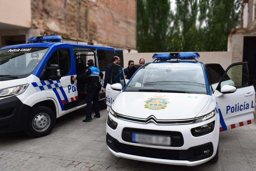 Nuevos vehículos de la Policía Local de Aranda