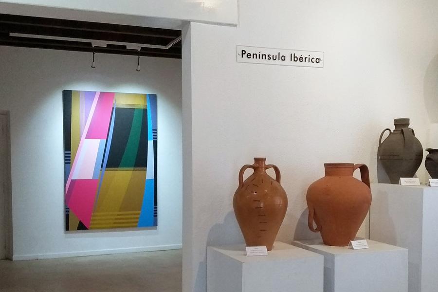 Exposición de Rufo Criado en el museo de Cerámica de Aranda