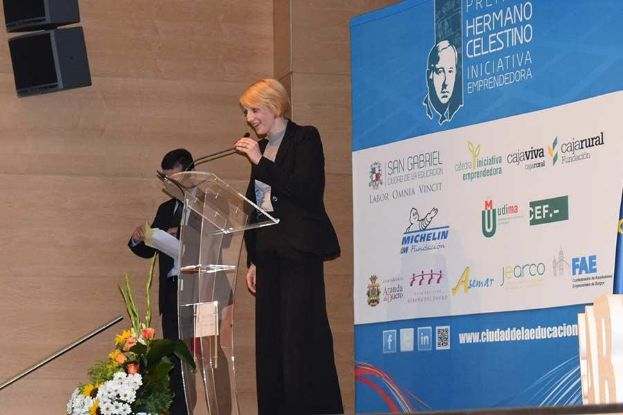 La tercera finalista, Cristina Martín. / DR.